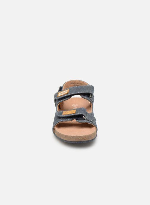 Sandales et nu-pieds Mod8 Kortis Bleu vue portées chaussures