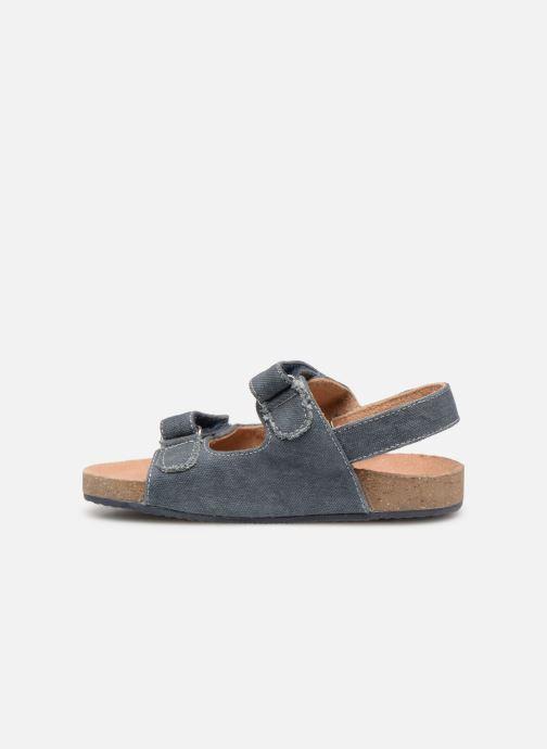 Sandales et nu-pieds Mod8 Kortis Bleu vue face