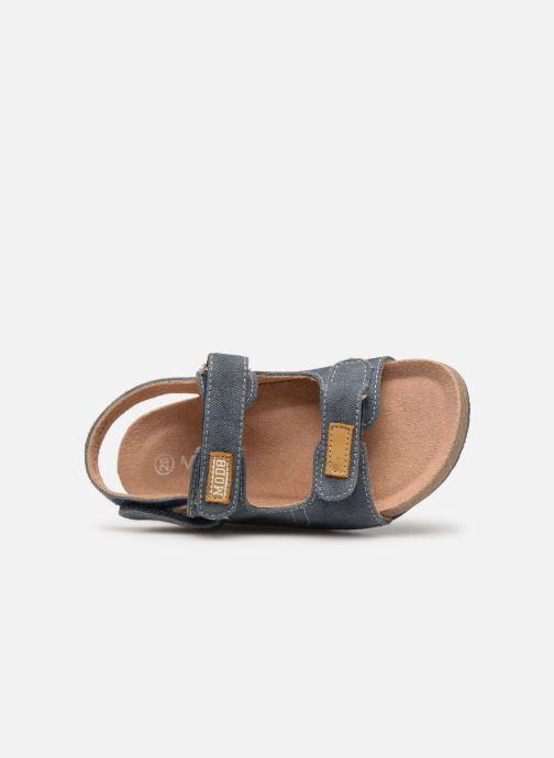 Sandales et nu-pieds Mod8 Kortis Bleu vue gauche