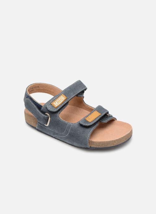 Sandales et nu-pieds Mod8 Kortis Bleu vue détail/paire