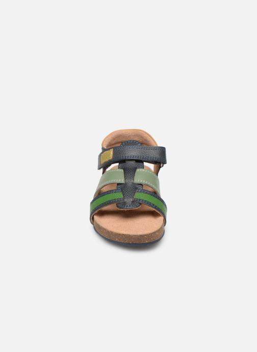 Sandales et nu-pieds Mod8 Kortou Bleu vue portées chaussures