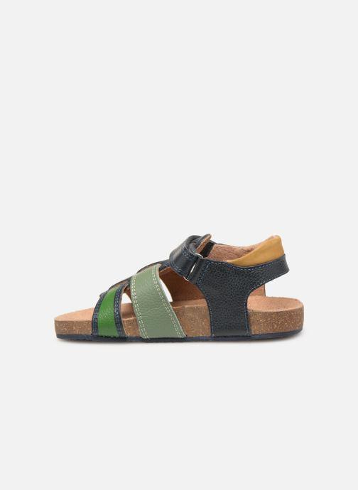 Sandales et nu-pieds Mod8 Kortou Bleu vue face