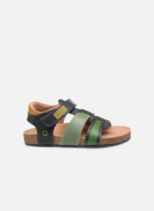 Sandales et nu-pieds Mod8 Kortou Bleu vue derrière