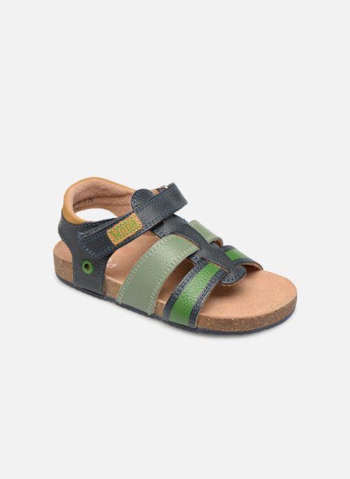 Sandales et nu-pieds Mod8 Kortou Bleu vue détail/paire