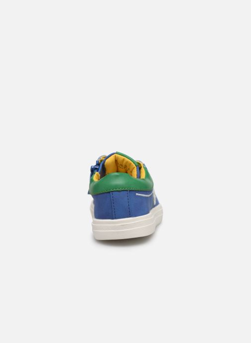 Trainers Mod8 Patouche Blue view from the right