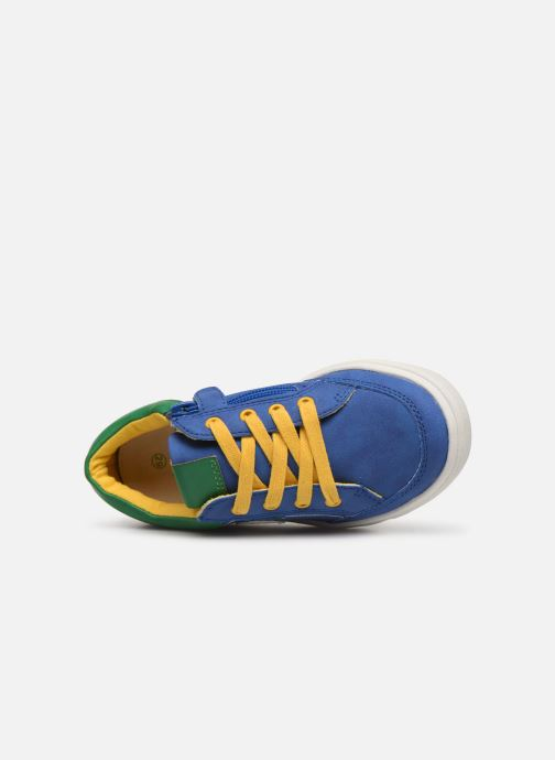 Trainers Mod8 Patouche Blue view from the left