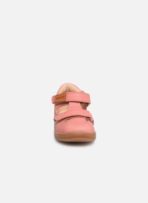 Sandales et nu-pieds Kavat Trona EP Rose vue portées chaussures