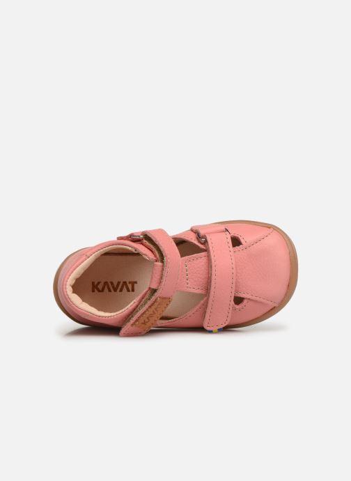 Sandales et nu-pieds Kavat Trona EP Rose vue gauche