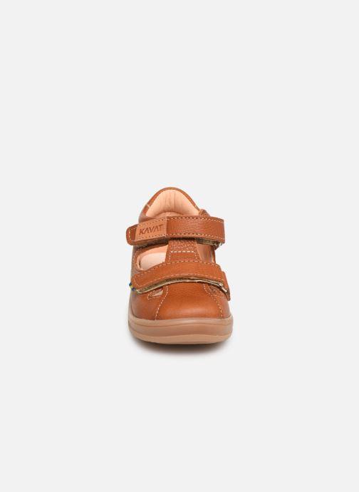 Sandales et nu-pieds Kavat Trona EP Marron vue portées chaussures