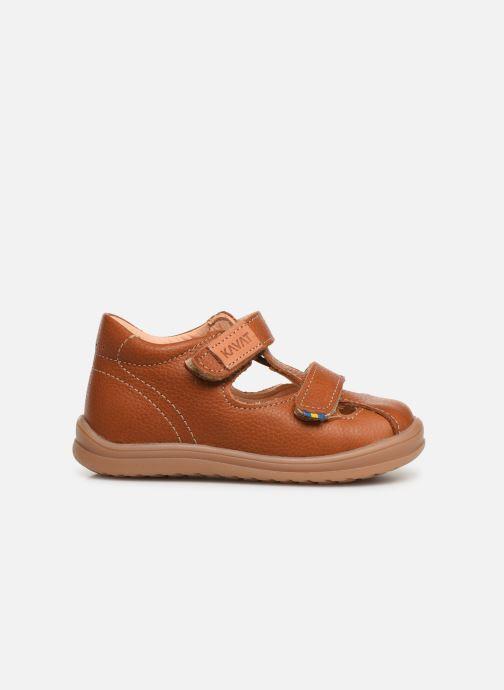 Sandales et nu-pieds Kavat Trona EP Marron vue derrière