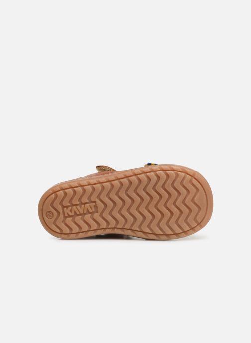 Sandales et nu-pieds Kavat Trona EP Marron vue haut