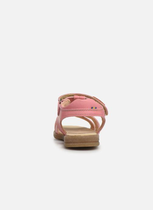 Sandales et nu-pieds Kavat Mala EP Rose vue droite