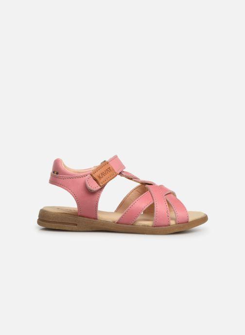 Sandales et nu-pieds Kavat Mala EP Rose vue derrière