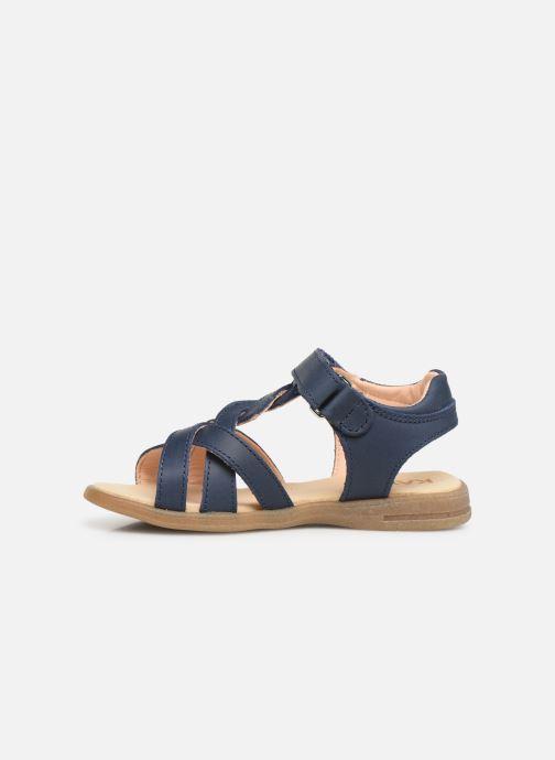 Sandales et nu-pieds Kavat Mala EP Bleu vue face