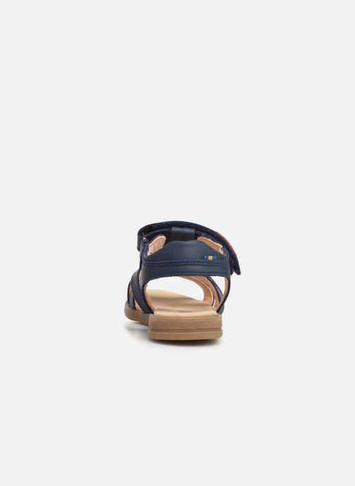 Sandales et nu-pieds Kavat Mala EP Bleu vue droite