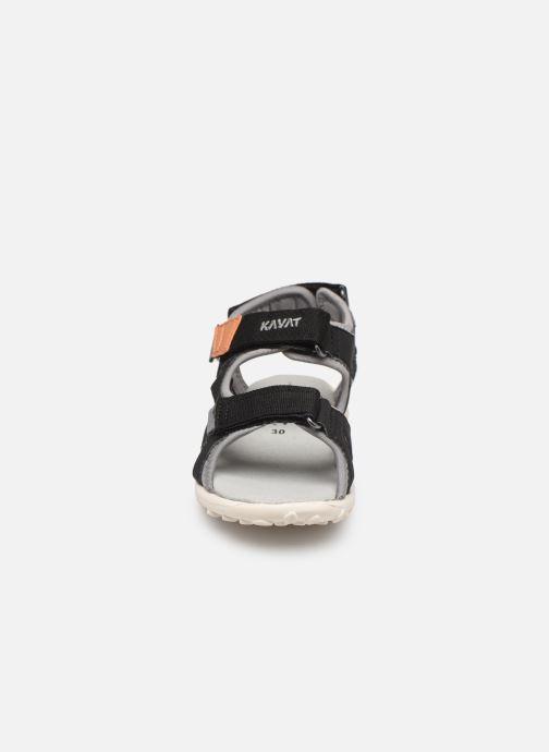 Sandales et nu-pieds Kavat Rio TX Bleu vue portées chaussures