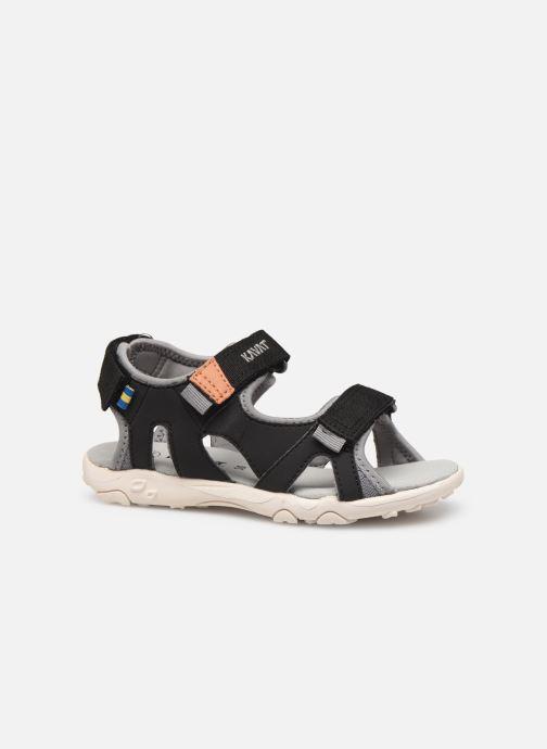Sandales et nu-pieds Kavat Rio TX Bleu vue derrière