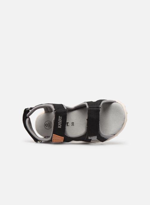 Sandales et nu-pieds Kavat Rio TX Bleu vue gauche