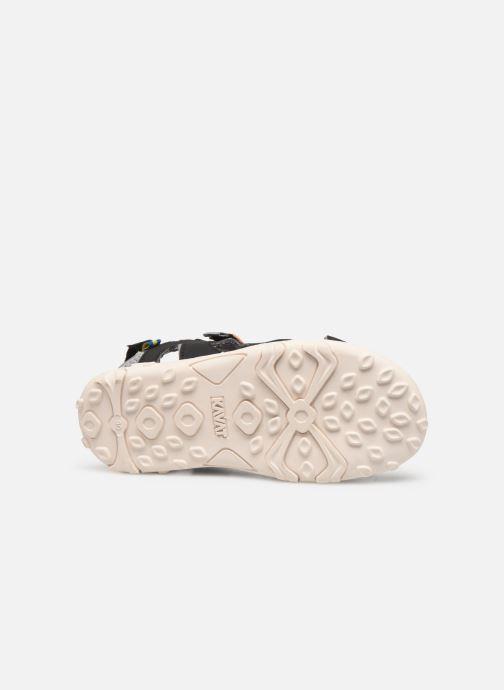 Sandales et nu-pieds Kavat Rio TX Bleu vue haut