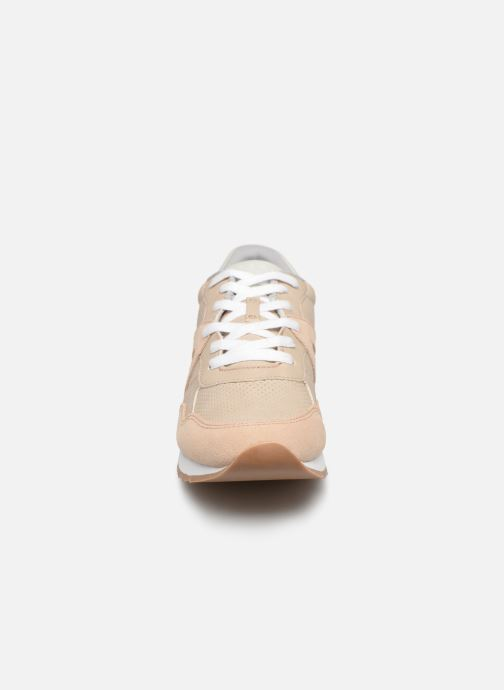 Baskets Esprit Astro LU Beige vue portées chaussures