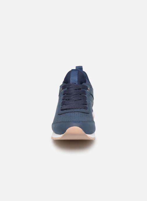 Baskets Esprit Astro Perf.LU Bleu vue portées chaussures