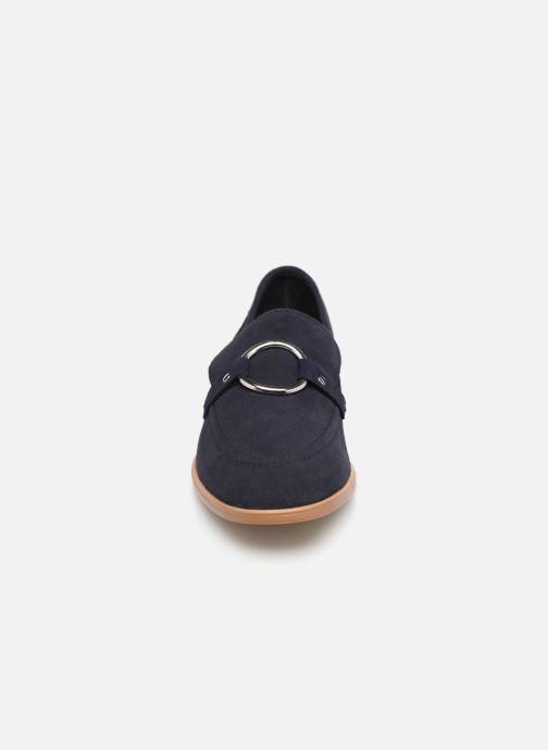 Mocassini Esprit Chantry R Loafer Azzurro modello indossato