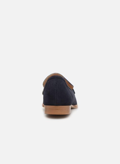 Mocassins Esprit Chantry R Loafer Bleu vue droite