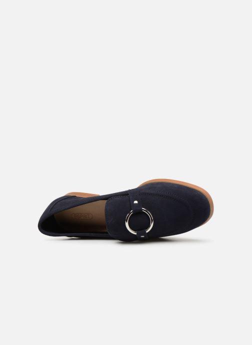 Mocassins Esprit Chantry R Loafer Bleu vue gauche