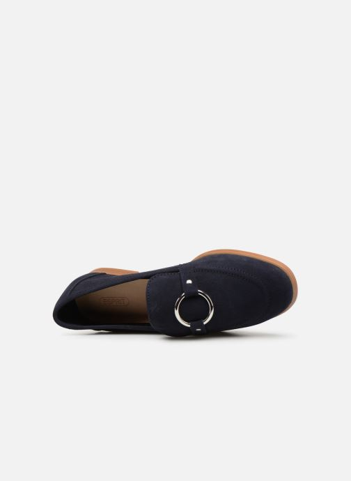 Mocasines Esprit Chantry R Loafer Azul vista lateral izquierda