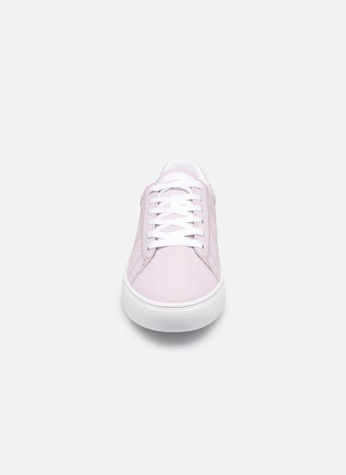 Baskets Esprit Colette LU Rose vue portées chaussures