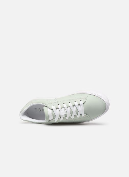 Trainers Esprit Colette LU Green view from the left