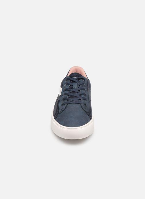 Baskets Esprit Colette Shiny LU Bleu vue portées chaussures