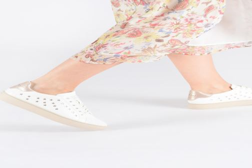 Trainers Esprit Colette Star LU White view from underneath / model view