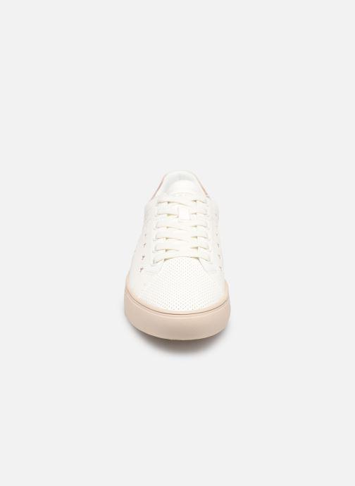 Baskets Esprit Colette Star LU Blanc vue portées chaussures