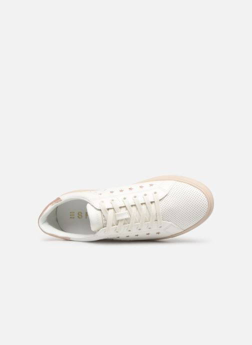 Trainers Esprit Colette Star LU White view from the left