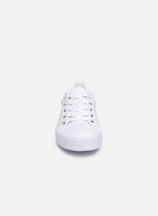 Baskets Esprit Mindy Lace Up Blanc vue portées chaussures