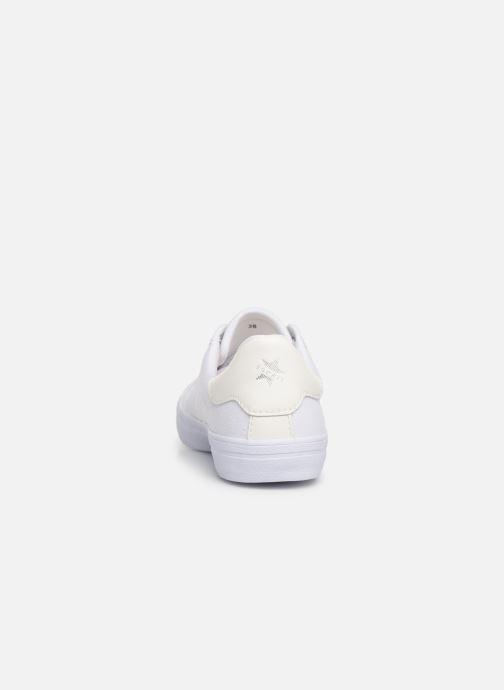 Baskets Esprit Mindy Lace Up Blanc vue droite