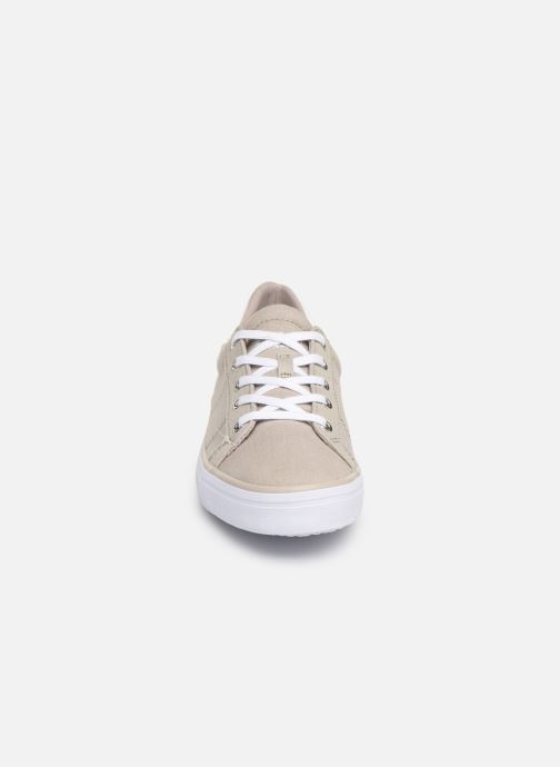 Trainers Esprit Mindy Lace Up Grey model view