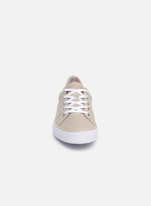 Sneakers Esprit Mindy Lace Up Grigio modello indossato
