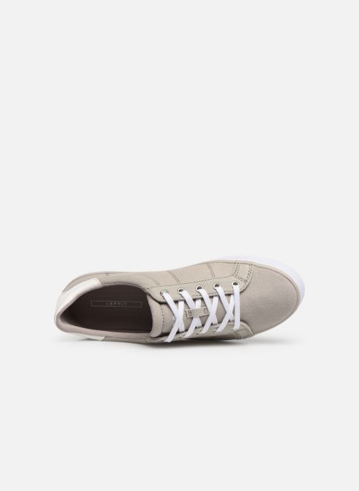 Trainers Esprit Mindy Lace Up Grey view from the left