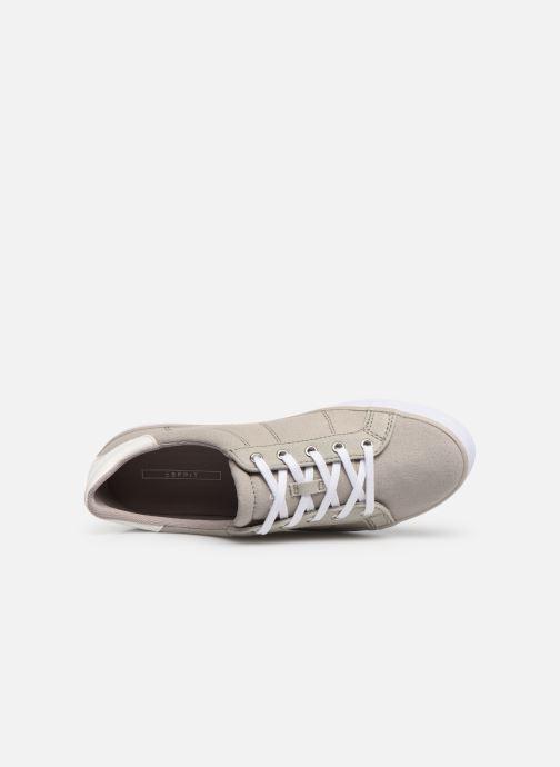 Sneakers Esprit Mindy Lace Up Grijs links
