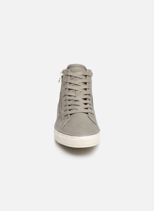 Baskets Esprit Sonetta Zip Bootie Gris vue portées chaussures
