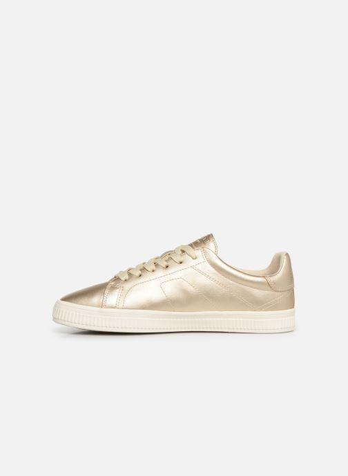 Sneakers Esprit Sonetta met LU Goud en brons voorkant