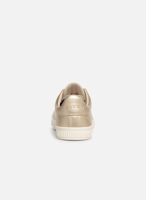 Baskets Esprit Sonetta met LU Or et bronze vue droite