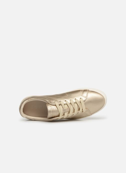 Trainers Esprit Sonetta met LU Bronze and Gold view from the left