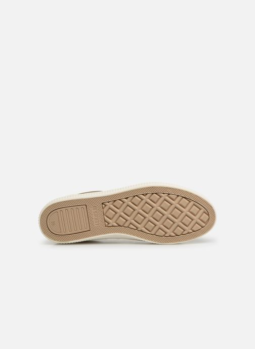 Trainers Esprit Sonetta met LU Bronze and Gold view from above