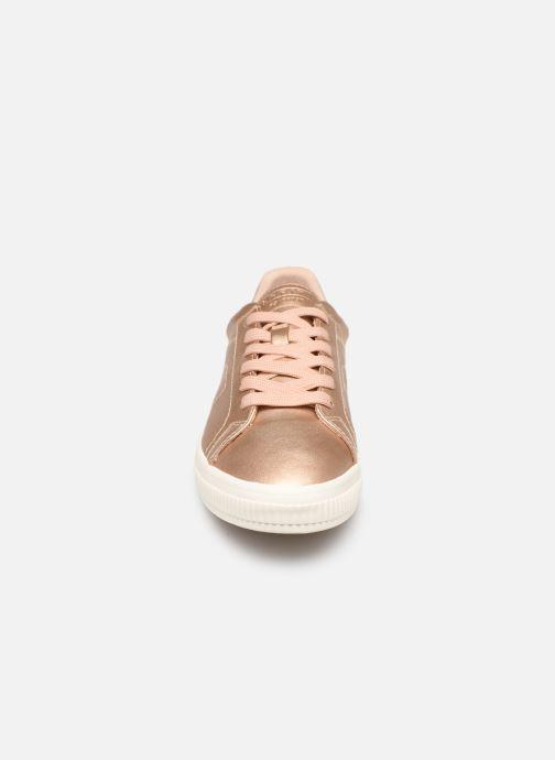 Sneakers Esprit Sonetta met LU Rosa modello indossato
