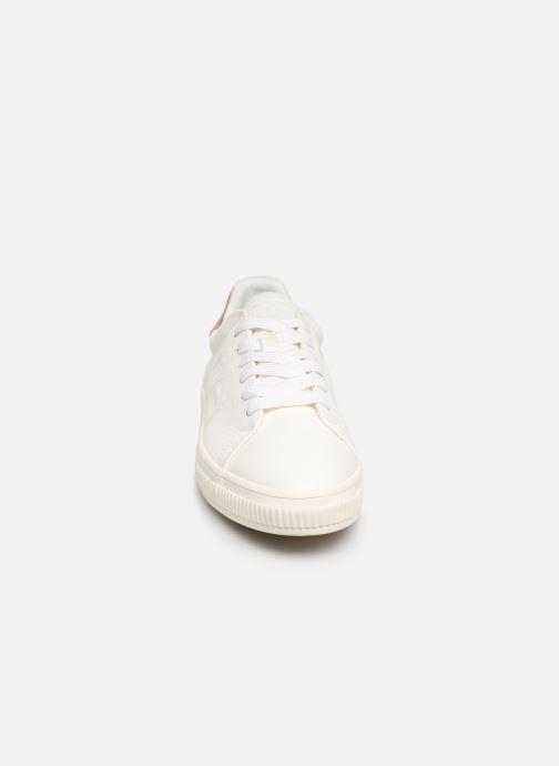 Baskets Esprit Sonetta met LU Blanc vue portées chaussures