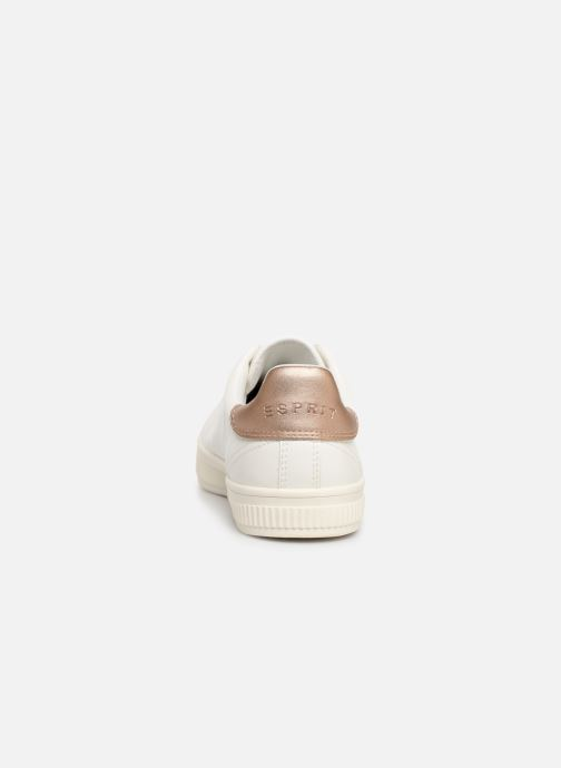Baskets Esprit Sonetta met LU Blanc vue droite