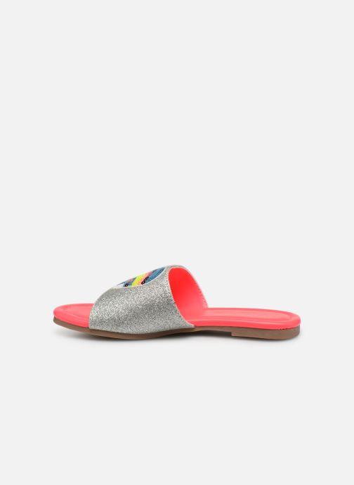 Sandales et nu-pieds Billieblush LOS ANGELES Argent vue face